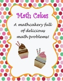 Third Grade Math Problems: Math Cakes