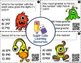 Third Grade Math QR Code Task Cards