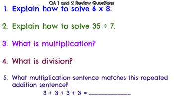 Third Grade Math Review