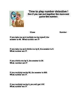 Third Grade Math Review-A Collection of Worksheets that Addresses 5 of the CCSS