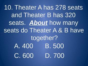 Third Grade Math Review - Number Sense