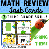 Third Grade Math Centers  Spring