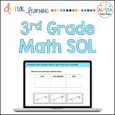 Third Grade Math SOL Review   TEI Questions   Digital