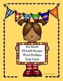 Third Grade Math STAAR Practice Task Cards