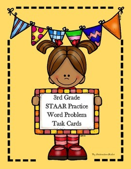 Third Grade Math STAAR Practice Task Cards by ...