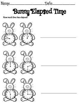 Third Grade Math Spring Activities