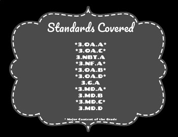 Third Grade Math TCAP/TN Ready Review