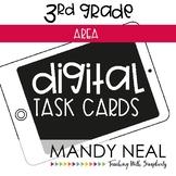 Third Grade Math Task Cards ~ Area