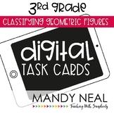 Third Grade Math Task Cards ~ Digital Classifying Geometric Figures