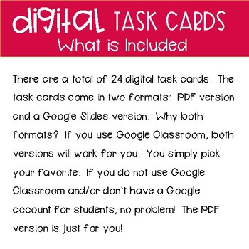 Third Grade Math Task Cards ~ Digital Classifying Geometric Figures
