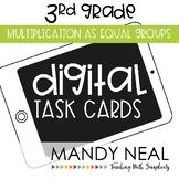 Third Grade Math Task Cards ~ Digital Multiplication as Eq