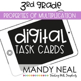 Third Grade Math Task Cards ~ Digital Properties of Multip