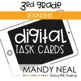 Third Grade Digital Math Task Cards ~ Rounding | Distance