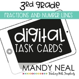 Third Grade Math Task Cards ~ Fractions and Number Lines