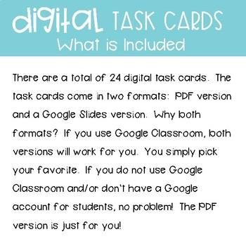 Third Grade Math Task Cards ~ Graphs