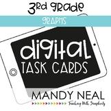 Third Grade Digital Math Task Cards ~ Graphs   Distance Learning