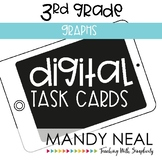 Third Grade Digital Math Task Cards ~ Graphs | Distance Learning