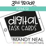Third Grade Digital Math Task Cards ~ Perimeter | Distance