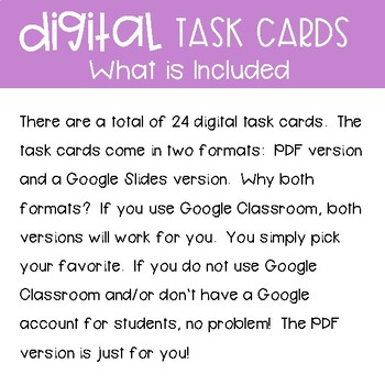 Third Grade Math Task Cards ~ Telling Time & Elapsed Time