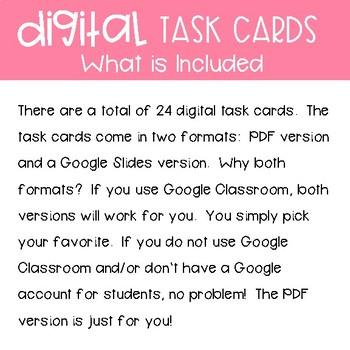 Third Grade Math Task Cards ~ Weight and Volume