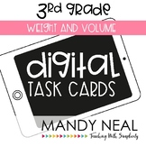 Third Grade Math Task Cards ~ Weight and Volume