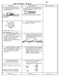 Third Grade Math Test Prep FAB 4 Week 1