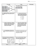 Third Grade Math Test Prep FAB 5 Week 10