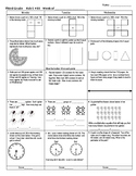 Third Grade Math Test Prep FAB 5 Week 11