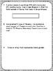 Third Grade Math Test Prep Packet