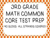 3rd Grade Common Core Math Test Prep - Slideshow