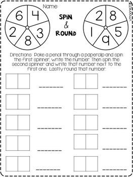 Third Grade Math Unit 1 ~ Algebra Number Operations