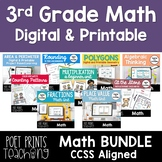 Third Grade Math Units - BUNDLE