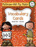 Third-Grade Math Vocabulary - BUNDLE {My Math Series - ALL