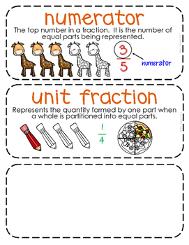 Third-Grade Math Vocabulary {My Math Series - Unit 10}{CCSS aligned}