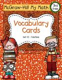 Third-Grade Math Vocabulary {My Math Series - Unit 10}{CCS