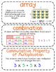 Third-Grade Math Vocabulary {My Math Series - Unit 4}{CCSS aligned}