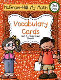 Third-Grade Math Vocabulary {My Math Series - Unit 5}{CCSS