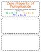 Third-Grade Math Vocabulary {My Math Series - Unit 6,7, &