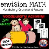 enVision Math 3rd Grade 2009 version Vocabulary Crossword Puzzles Topics 1-20