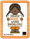 Third Grade Math: Weekly Word Problems and INDIANA Math Standards