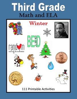 Third Grade Math and ELA (Winter)