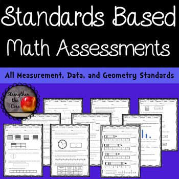 Third Grade Mathematics Standards Based Assessment MD and G Standards