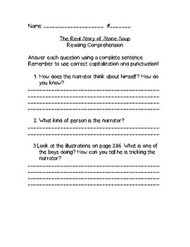 Third Grade McGraw-Hill Literature Anthology Assessments Unit 4