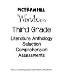 Third Grade McGraw-Hill Literature Anthology Assessments Unit 4