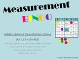 Third Grade Measurement BINGO