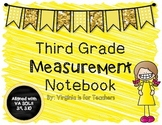 Third Grade Measurement Notebook
