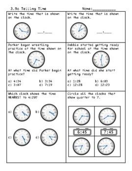 Third Grade Measurement Review