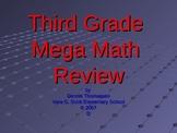 Third Grade Mega Math Review