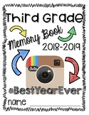 End of the Year Third Grade Memory Book