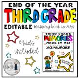 Third Grade Memory Book Covers